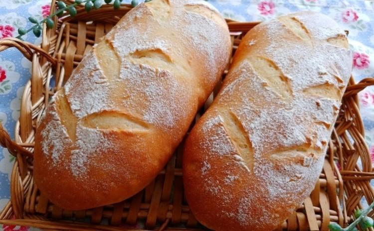 毎日でも食べたくなる☆白神こだま酵母お食事パン「ソフトフランス&白パン」