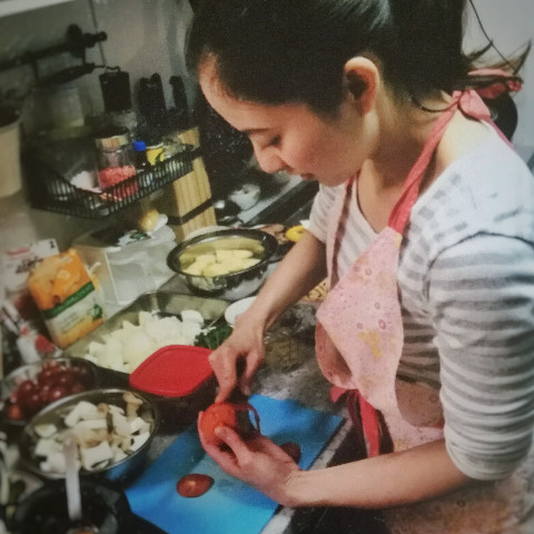 お料理の実習