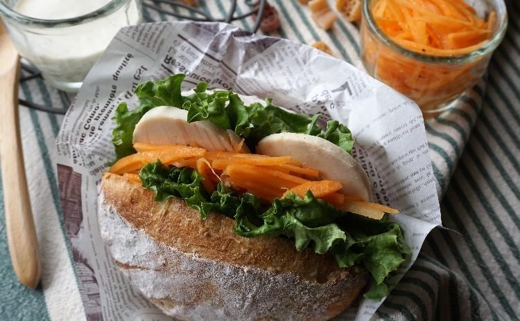 オレンジ酵母で✿ショコラオレンジ&セサミクッペ*オレンジ香♡キャロットラペ