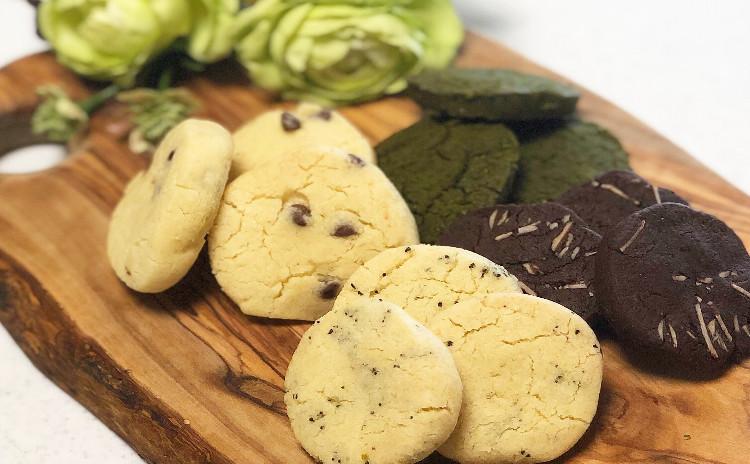 ナチュラルスイーツレッスン☆オリーブオイルのクッキー〜卵・バター・白砂糖不使用〜