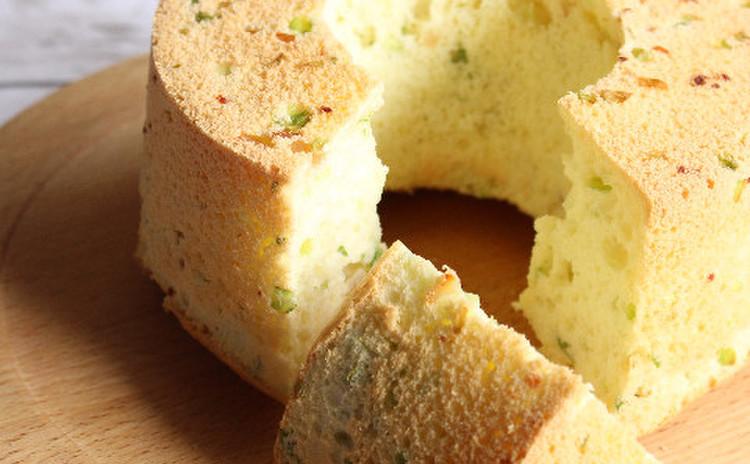 ベーコン・レタスのシフォンケーキ