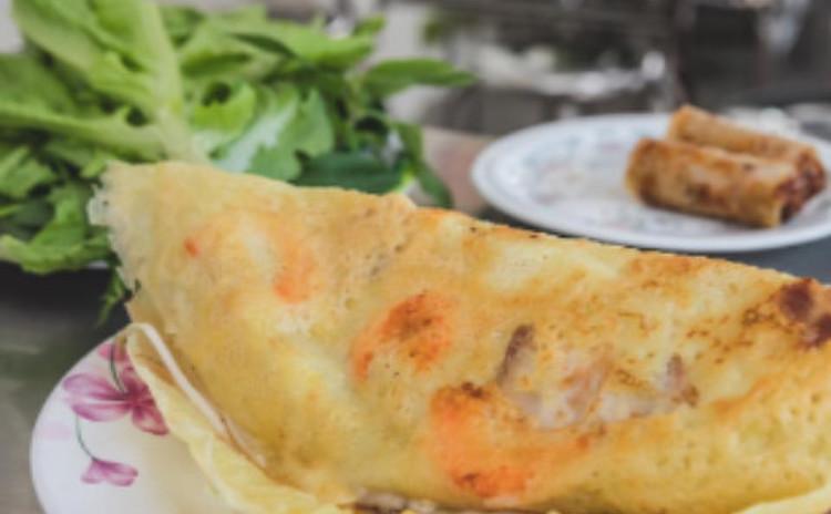 バインセオ Bánh xèo