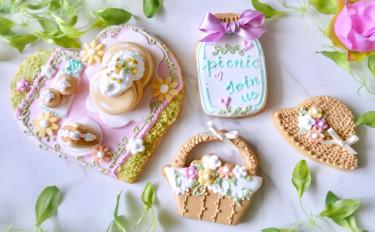 【7月限定】お花畑のピクニック♪アイシングクッキー