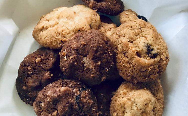 三種のナッツdeサクサククッキー♡