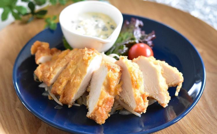 簡単だから何度でも 日々の食卓・お惣菜(自家製マヨネーズ、チキン南蛮タルタルソース添え、豚汁等)