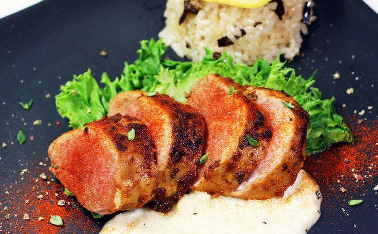 やわらか豚のソテー マルサラソース