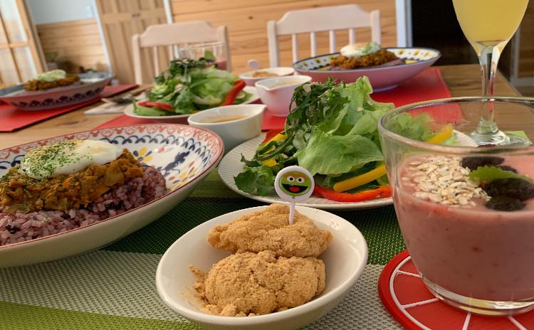 子供から大人まで食べれる大豆ミートのキーマカレーレッスン