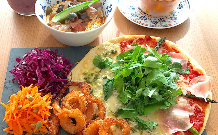 アレンジ自在!手作りヘルシーピザに夏にオススメの常備菜プレート全6品