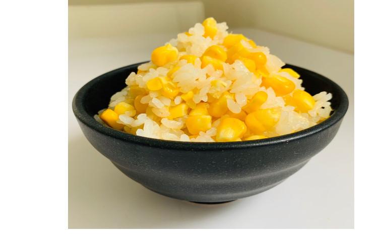 【お砂糖不使用★ヘルシー夏和食】①とうもろこしご飯、②牛スジのレモン煮、③焼き厚揚げの梅しらすみょうがソース