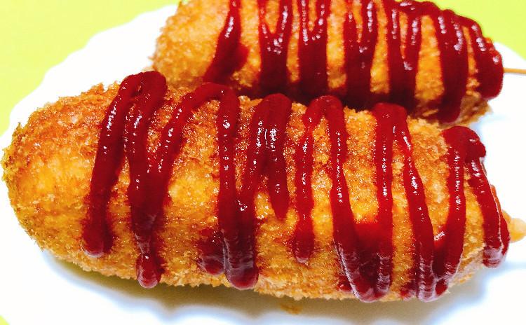 【子どもクッキング教室♪】 チーズハットグ作りにチャレンジ(^^)/ 食後はかき氷も♡