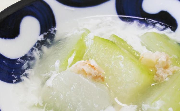 薬膳 冬瓜と卵のスープ