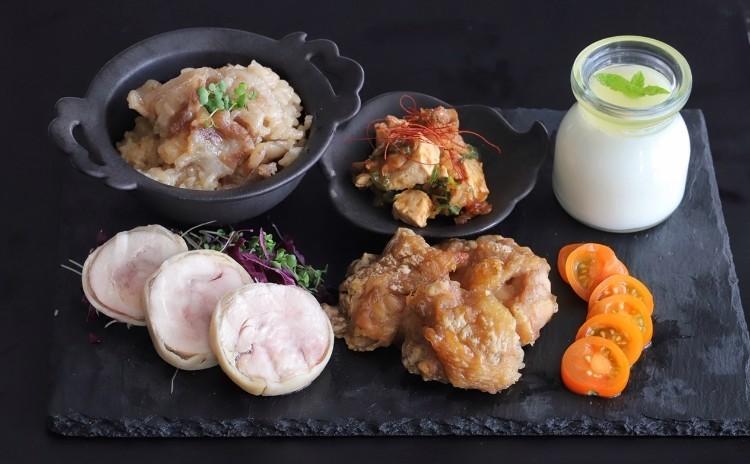 目からウロコのレンジ調理レッスン♬豚バラとザーサイの中華おこわ風、揚げないから揚げ、マーボー豆腐、ふんわり鶏ハム、台湾風ゼリー