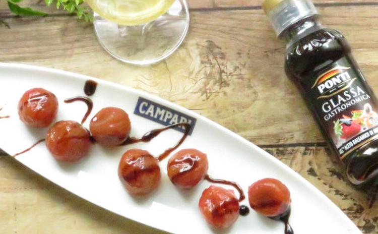 【おまけ】トマトのハニーバルサミコマリネ