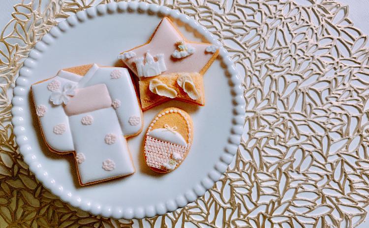 はじめてのアイシングクッキー夏限定デザイン、お土産付き♪