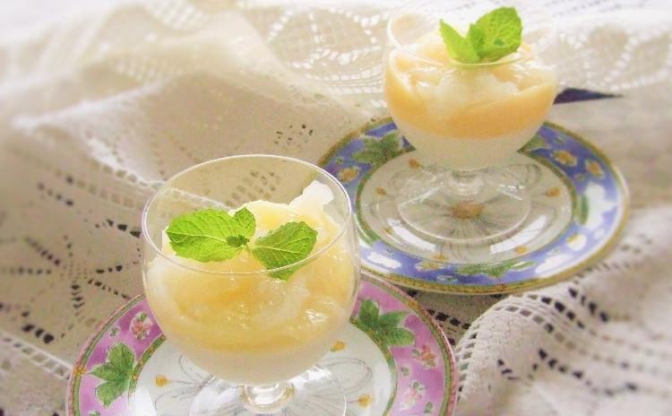 暑い季節はレモンを使った甘酸っぱいケーク🍋ウィークエンドシトロン&ライチジュレと季節のフルーツのパンナコッタ