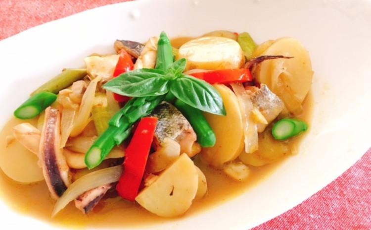 ホシノ丹沢天然酵母で作るクミンカンパーニュ&魚介とジャガイモのカレーマリネ 中型(直径13㎝)1個・2個分生地・2個分酵母持帰り付