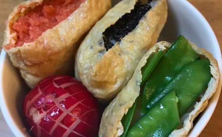 異性の胃袋をつかむ【モテ料理】 ~おうちで夕方デート〈3色いなり寿司〉篇