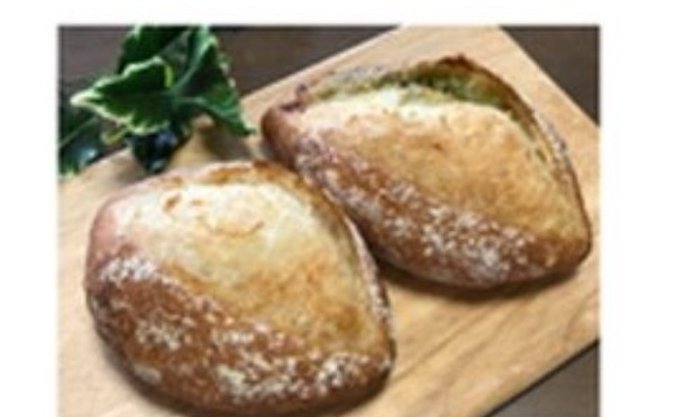 クッペ2種(プレーン、バジル&チーズ)
