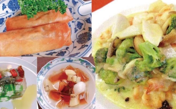前菜からデザートまで 「チーズを使った中華」