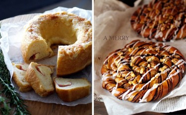 【ランチ付】夏に食べたいパン♪生ハムチーズのリングとうずまきカフェショコラの2種レッスン♡