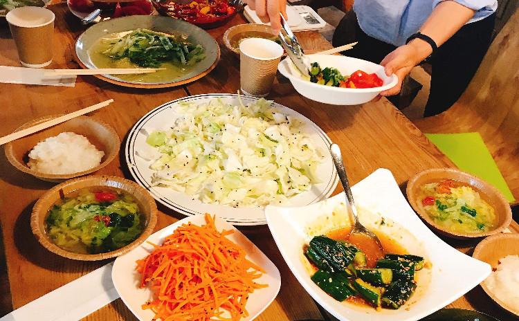 日常の食事のちょうどいいを発見するワークショップ〜おやさい350サロン「かさね煮」編 9/8 11:30-
