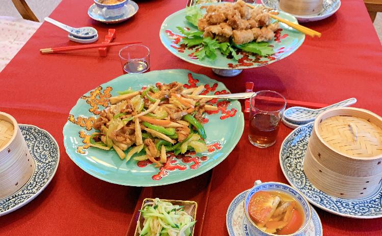 梅雨を乗り切る玄米食☆お肉使わずヘルシー中華❣️