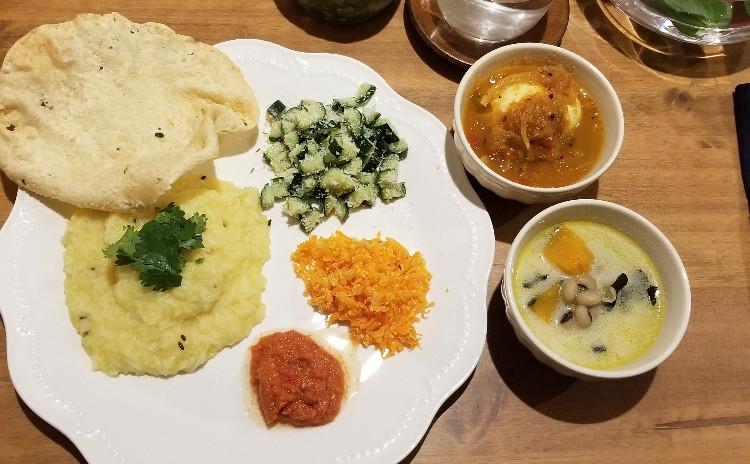 【健康的なインド料理を学ぶ】かぼちゃのカレー、なすカレーほか