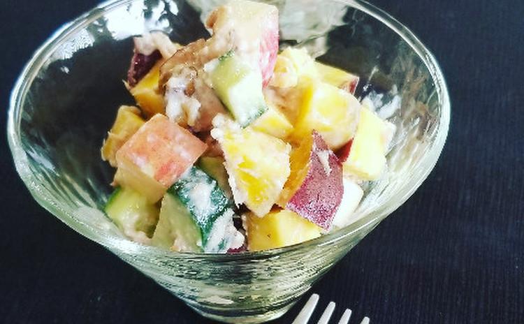 さつまいものデリ風サラダ(88kcal)