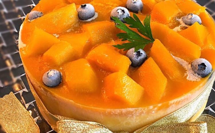 マンゴーヨーグルトのムースケーキ( レシピのみ )