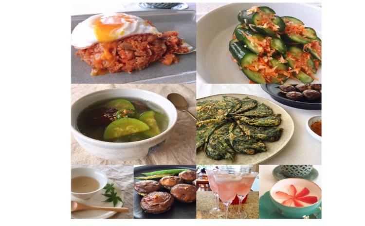 夏のスタミナ韓国家庭料理