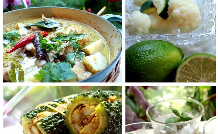 世界一美味しい料理絶賛!「マッサマンカレー(ペーストお持ち帰り)」やスパイスの力で夏を乗り切りましょう!「ゴーヤの詰焼き」やデザートはベトナムで大人気の「五目チェ」
