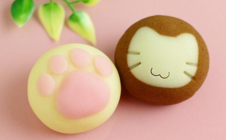 かわいい『練り切り』和菓子レッスン:ねこ