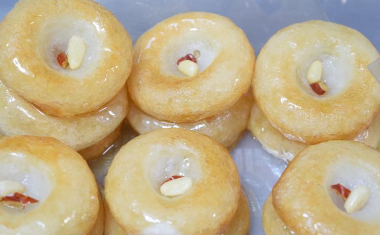 夏の韓国スウィーツ!マッコリで作る揚げ餅~우메기 ウメギ~