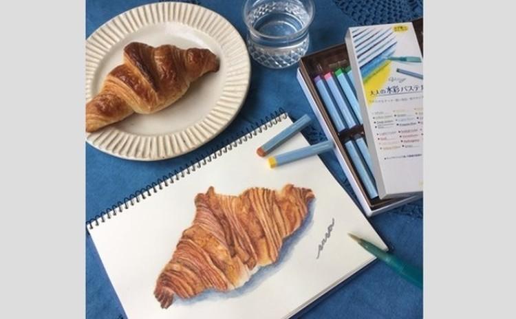 パンを描く!「パン画」ワークショップ