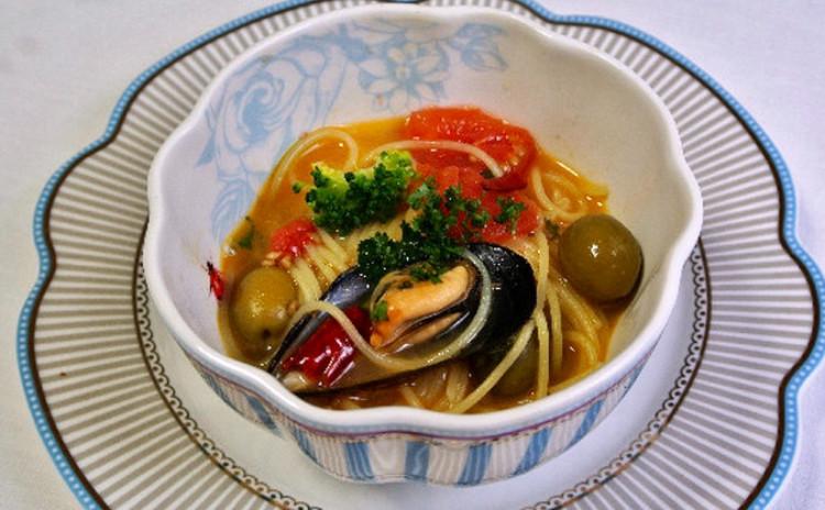 旬の鮮魚でアクアパッツァを作りましょう♫