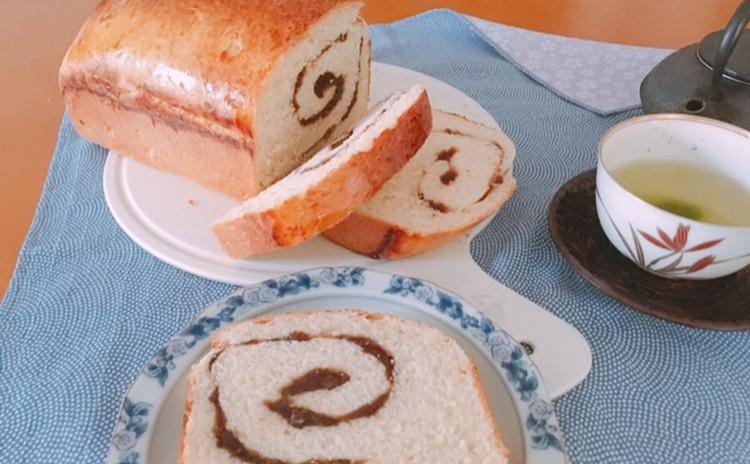 ホシノ酵母で作るあん食パン&おいしい日本茶の淹れ方