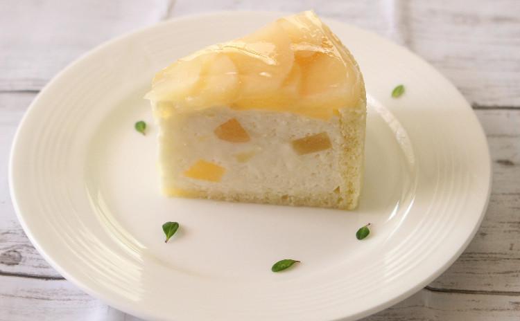 桃のデザート♪ 夏のひんやりムースケーキを作りましょう!