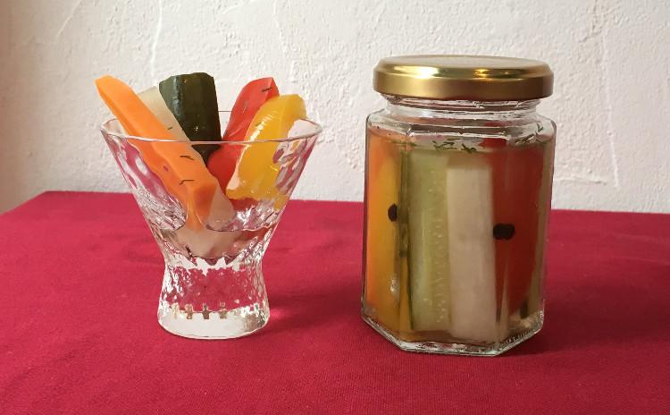 夏は本格カレーを作って、天然酵母のナンを焼こう!カラフルピクルスを添えて☆