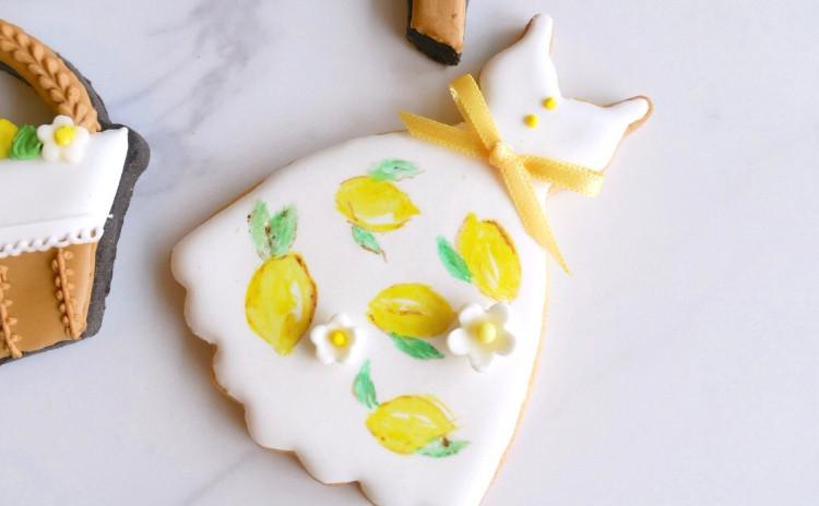 【8月9月限定】レモンワンピースでおでかけ♪アイシングクッキー