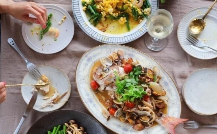 ホーロー鍋で囲む、夏一番のおもてなし料理(ル・クルーゼ×シェフドママン)