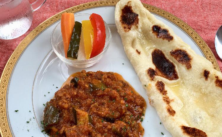 茄子と挽き肉のカレー