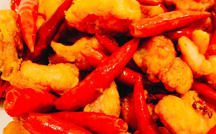 唐辛子鶏/辣子鶏ラーツーチー(単品定価:9,500円)