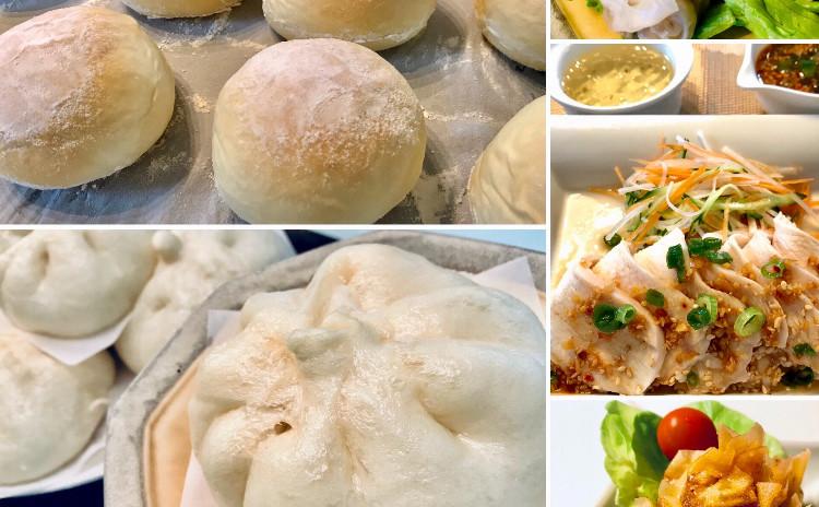 まるで大福みたいな極み食感の白パンと中華まん!しっとり鶏ハムも!お土産付き