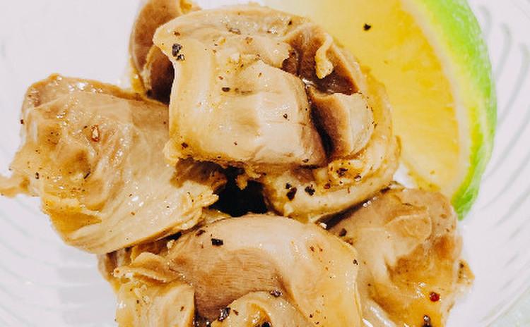 砂肝のサワーマリネ(単品定価:9,000円)