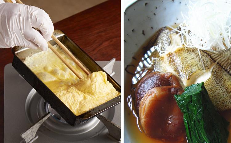伝えておきたい和食の基本・「出汁巻き玉子」「カレイのあっさり煮」「インゲンの胡麻和え」「イワシのつみれ汁」