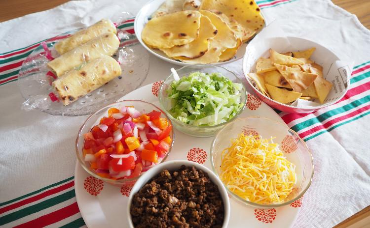 【料理教室:実習あり】手作りトルティーヤでホームパーティー♪タコス&ブリトー&チップス