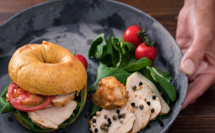 タンドリーチキン風味のヘルシー鶏ハム