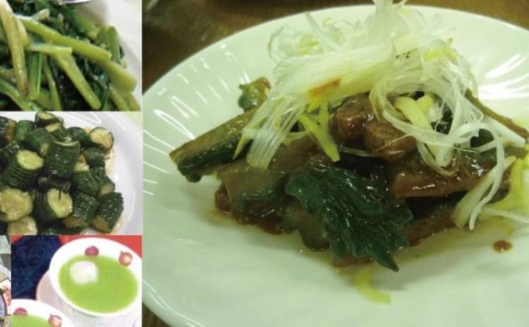 野菜たっぷり さっと作る中華の炒め4種とデザート