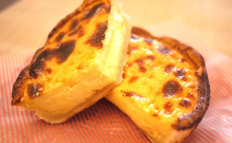 中華スイーツ!深型エッグタルト&杏仁豆腐