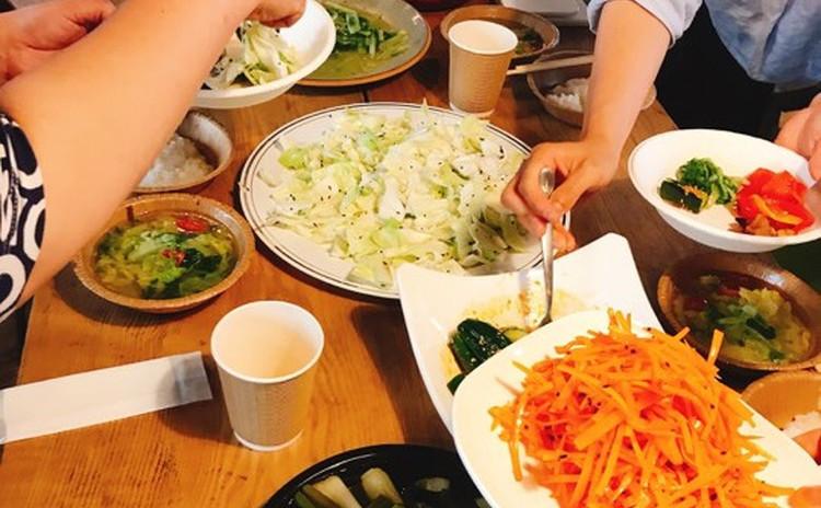 日常の食事のちょうどいいを発見するワークショップ〜おやさい350サロン「かさね煮」編 10/26 19:00-